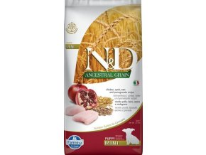 N&D LG DOG Puppy Mini Chicken & Pomegr 7kg