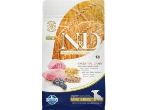N&D Low Grain Dog Puppy Mini Lamb & Blueberry 0,8 kg