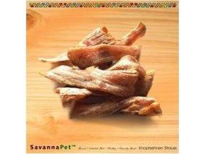 SavannaPet Směs pštrosích chrupavek a šlach 180g