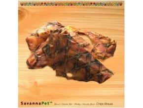 SavannaPet Pštrosí chipsy 150g