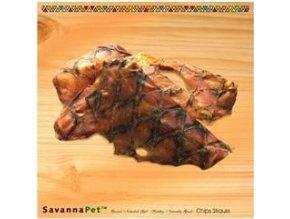 SavannaPet Pštrosí chipsy 350g