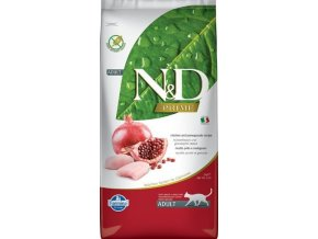 N&D GF CAT Adult Chicken & Pomegranate 5kg