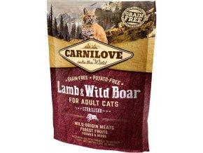 Carnilove Cat Adult Lamb & Wild Boar Grain Free 0,4 kg