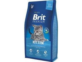 Brit Premium Cat Kitten NOVÝ 8 kg