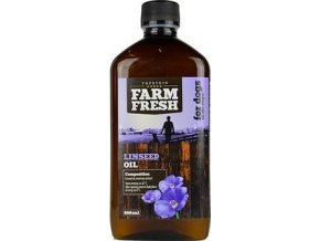 Lněný olej FARM FRESH - 500 ml