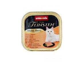 Animonda paštika pro Kastráty  krůta/pstruh kočka 100g