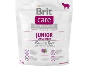 Brit Care Dog Junior Large Breed Lamb & Rice NOVÝ 1 kg