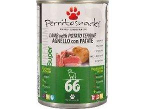 Perrito konzerva pes Lamb, Potato & Herbs 400g
