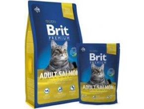 Brit Premium Cat Adult Salmon 1,5kg NEW