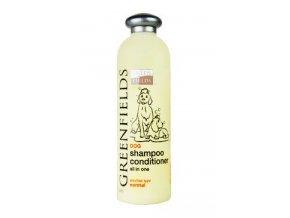 Greenfields šampon s kondicionérem pes 400ml