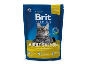 Brit Premium Cat Adult Salmon 300g NEW