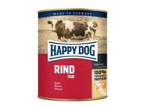 Happy Dog konzerva Rind Pur Hovězí 800g