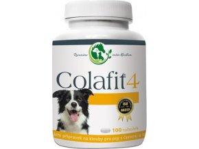 Colafit 4 na klouby pro psy černé/bílé 100tbl