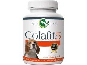 Colafit 5 na klouby pro psy barevné 100tbl