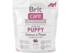 Brit Care Grain Free Dog Puppy Salmon & Potato 1 kg