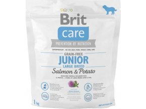 Brit Care Grain Free Dog Junior Large Breed S & P 1 kg