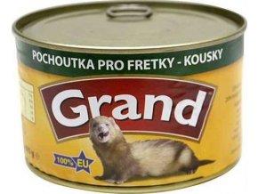 Grand fretka konz. - kousky ve vlastní šťávě 405 g