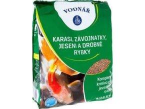 Krmivo pro ryby KARASI, ZÁVOJ,JESENI a malé rybk 4kg