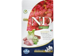 N&D GF Quinoa DOG Digestion Lamb & Fennel 800g