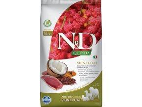 N&D GF Quinoa DOG Skin&Coat Duck & Coconut 2,5kg
