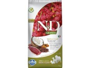 N&D GF Quinoa DOG Skin&Coat Duck & Coconut 7kg