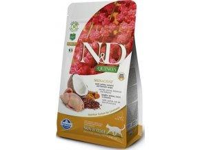 N&D GF Quinoa CAT Skin&Coat Quail & Coconut 300g