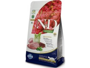 N&D GF Quinoa CAT Digestion Lamb & Fennel 1,5kg