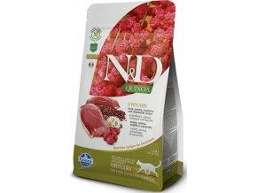 N&D GF Quinoa CAT Urinary Duck & Cranberry 300g