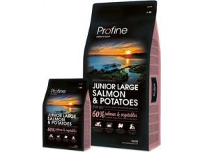 Profine NEW Dog Junior Large Salmon & Potatoes 3 kg EXP 10/2019