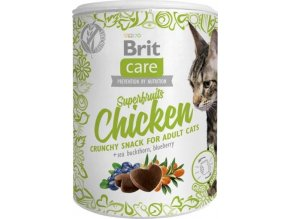 Brit Care Cat Snack Superfruits Chicken  100g