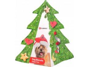 Cukroví vánoční stromeček pochoutka pro psy 200g
