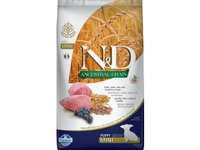 N&D Low Grain Dog Puppy Mini Lamb & Blueberry 2,5 kg