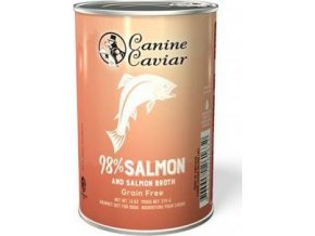 Canine Caviar konzerva divoký losos 375g