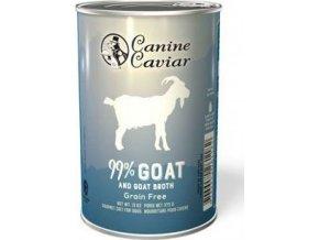 Canine Caviar konzerva koza 375g
