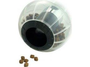 Hračka kočka CATRINE Catmosphere treat ball černá