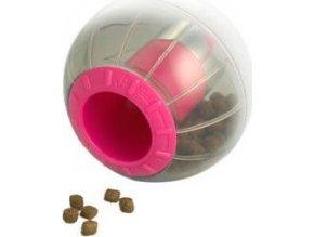Hračka kočka CATRINE Catmosphere treat ball červená