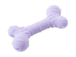 Hračka pes BUSTER Flex Bone, fialová 16cm
