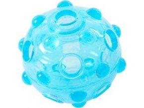 Hračka pes BUSTER Crunch Ball, světle modrá 8,25cm M