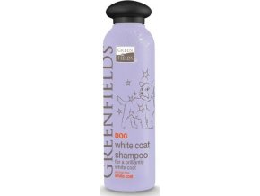 Greenfields šampon dog white coat shampoo 200 ml