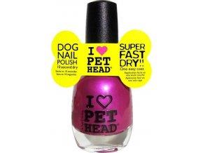Pet Head lak na nehty/drápky - purpurový/purple 14,7 ml