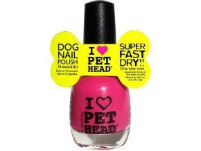Pet Head lak na nehty/drápky - růžový/pink 14,7 ml