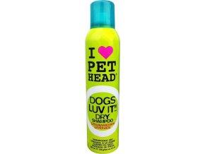 Pet Head šampon dog Dogs luv it - suchý šampon 250 ml