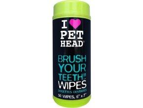 Pet Head ubrousky na čištění zubů 50 ks / bal.