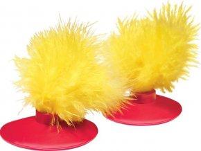Hračka cat plast Disk magnetický-náhrada Kong 2 ks