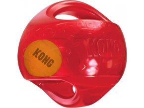 Hračka guma + tenis Jumbler míč Kong large/X-large