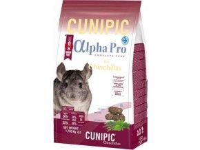 Cunipic Alpha Pro Chinchilla - činčila 1,75 kg