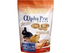 Cunipic Alpha Pro Snack Carrot - mrkev 50 g