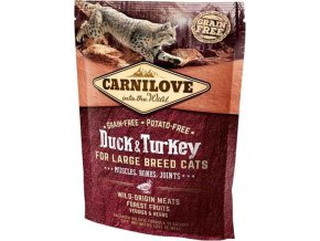 Carnilove Cat Adult Duck & Turkey Large B.Grain Fr 0,4 kg