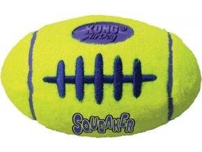 Hračka tenis Air dog Míč rugby Kong medium