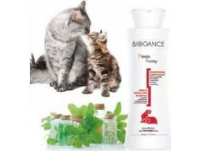 Biogance šampon Fleas away cat - antiparazitní 250 ml